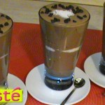 mousse chocolat et coco