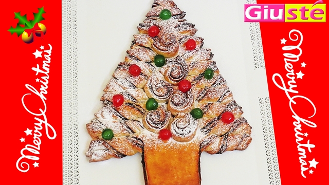 Sapin de Noël brioché