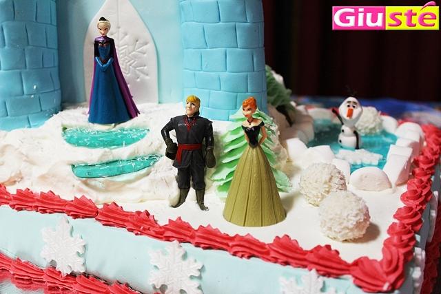 Gâteau Frozen