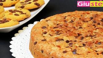 Gâteau cookies géant.