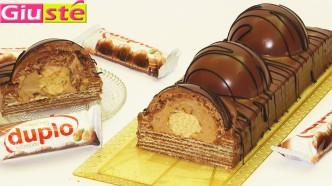 Gâteau façon duplo géant