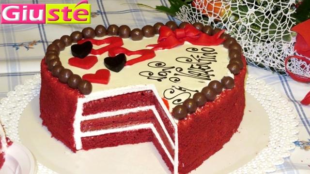 G 226 Teau Red Velvet Cake En Forme De Coeur Giust 233 Cuisine